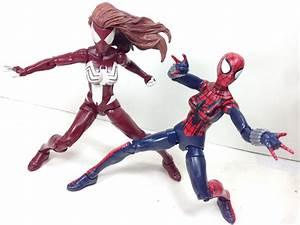 Spider Woman & Spider Girl Marvel Legends Hobgoblin BAF ...