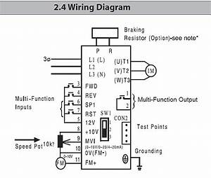 Bridgeport Mill Wiring Diagram On The Forward And Reverse