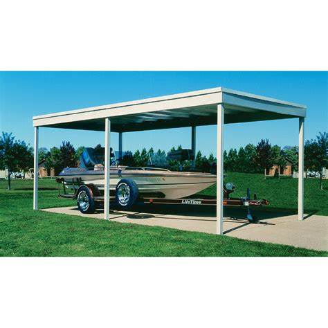 Carport Covers by Arrow Freestanding Patio Cover Carport 10ft X 10ft