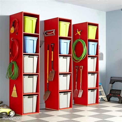 Simple Garage Organization Ideas by 51 Brilliant Ways To Organize Your Garage Family Handyman
