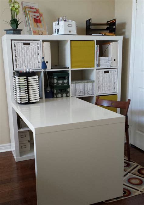 bureau expedit ikea this creative space craft room ikea expedit deck and