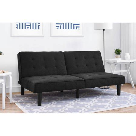 futon walmart mainstays premium arlo tufted futon colors