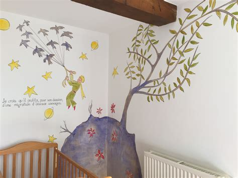 chambre petit prince décoration chambre de bébé le petit prince palzon com