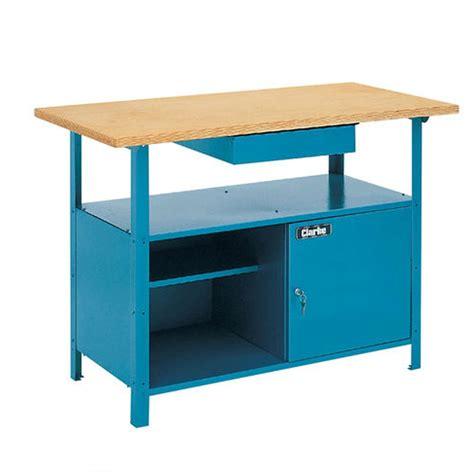 clarke cwb heavy duty wooden top workbench