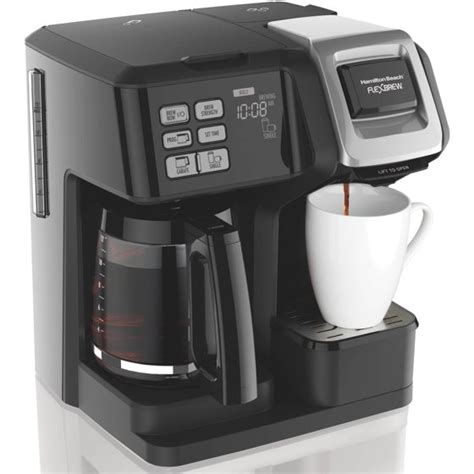Parts & accessories keep your hamilton beach products working efficiently with our replacement parts and accessories. Hamilton Beach FlexBrew 2 Way Coffee Maker | Model# 49976 - Walmart.com