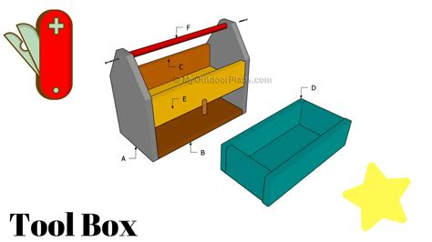 wooden tool box plans youtube