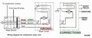 Bosch Rear Wiper Motor Wiring Diagram