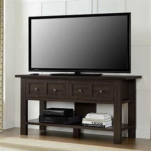 Table Tv But : classic 55 inch tv stand versatile accent console table with 2 storage drawers ~ Teatrodelosmanantiales.com Idées de Décoration