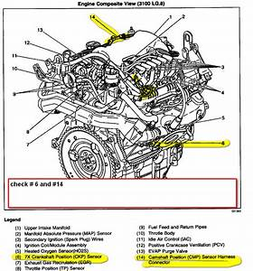 Diagram Further 2000 Chevy Malibu Cam Sensor On 3 1l Engine Diagram