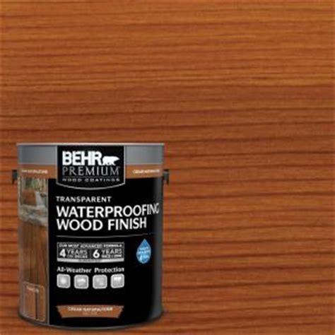 BEHR Premium 1 gal. Cedar Naturaltone Transparent