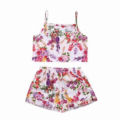 Crop Tops Outfits Clothes Clothing Kid Shorts