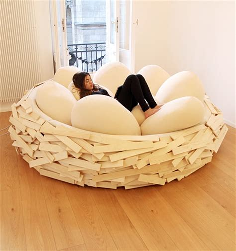 Comfortable Bean Bag Chairs by Bird S Nest Bed
