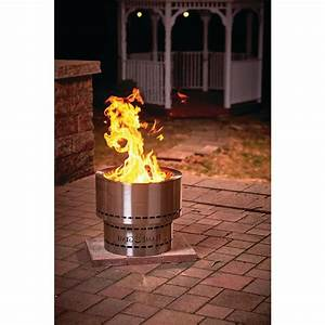 Wood Pellet Fire Pit Outdoor Patio Heater Portable