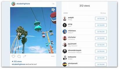 Instagram Views Examples Ways Screenshot Lumen5 Push