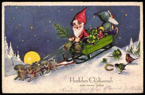 Ansichtskarte  Postkarte Glückwünsche Zum Neuen Jahr