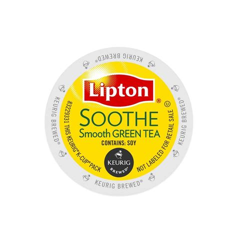 Lipton Soothe Green Tea Keurig K Cups 96 Count   eBay