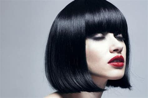 Black Hairstyles Bob With Bangs by 15 Attention Grabbing Bob Hairstyles For Sheideas