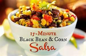8 minute black bean soup