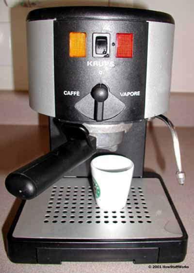 espresso machines work howstuffworks
