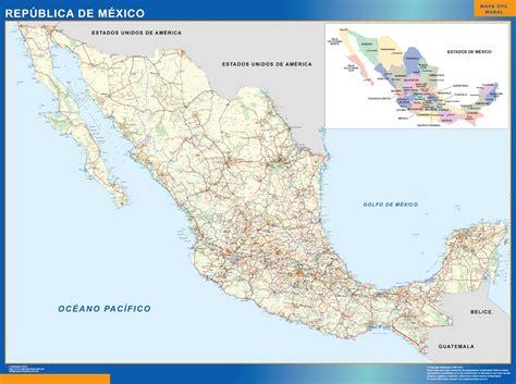Acheter Carte Du Monde Geante by Carte Mexique Acheter Cartes G 233 Antes Les Plus Grandes