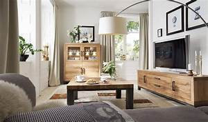 Echtholz Wohnzimmer Eiche Old Bassano Vo3 Massivholz