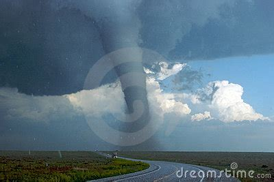 Southeast Colorado Tall Tornado Royalty Free Stock Image