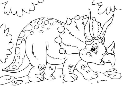 Kleurplaat Grote Dinosaurus by Kleurplaat Dinosaurus Triceratops Afb 27631 Images