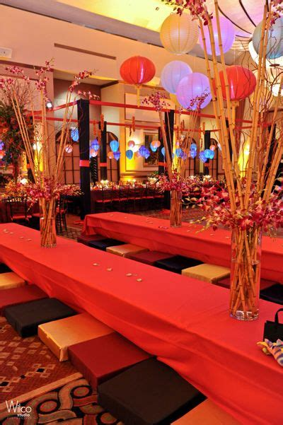 japanese themed decor bat mitzvah themed decor japanese theme japanese theme party pinterest gardens bat