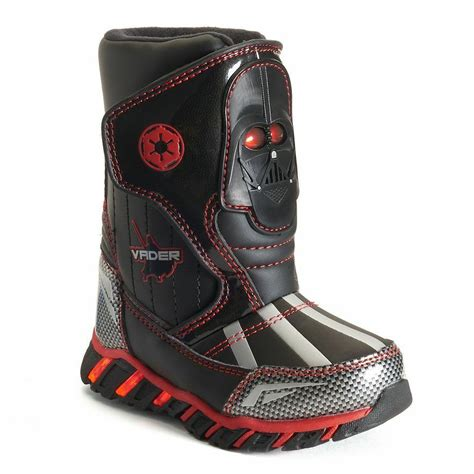 star wars light  waterproof insulated boys snow