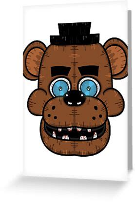"""Buy a playstation store gift card from an online retailer and they will email you a code to redeem via our digital store on your playstation console or via any web browser. """"Freddy Fazbear (Five Nights at Freddy's)"""" Greeting Cards by Colin Doyle   Redbubble"""