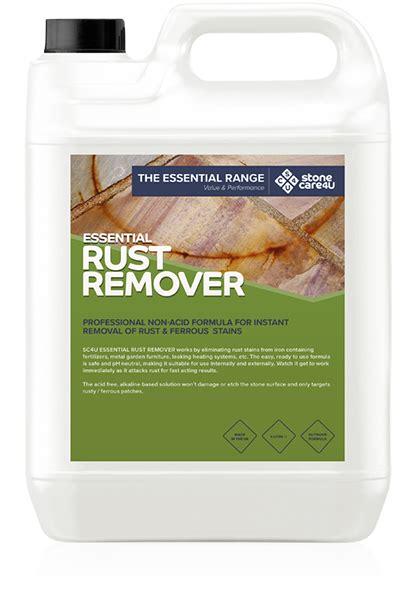 rust remover acid