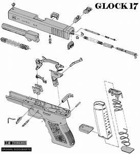 Despiece Armas   U0026quot Glock 17 U0026quot