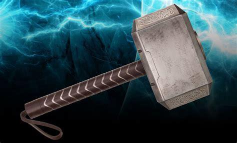 marvel thor hammer prop replica by museum replicas