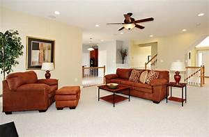 Srecessed lighting living room with elegance ceiling light