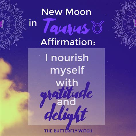 moon  taurus affirmations  butterfly witch