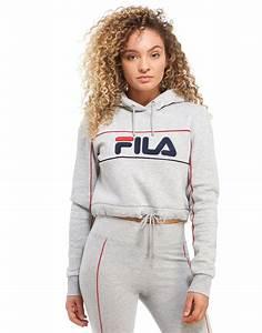 Tenue De Sport Femme Tendance : fila pipe logo crop hoodie autumn vetements tenue et ~ Melissatoandfro.com Idées de Décoration