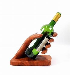 Porte Bouteille Vin : porte bouteille pr sentoir bouteille de vin id e cadeau ~ Melissatoandfro.com Idées de Décoration
