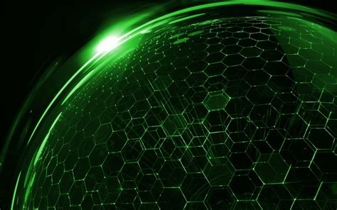 Digital Wallpaper Green by Hexagon Hd Wallpaper Background Image 1920x1200 Id