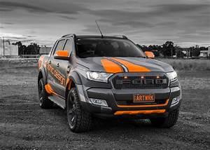 Ford Ranger Wildtrack : jmr creative design ford ranger wildtrak wrapped in matte metallic fluro orange film xd ~ Dode.kayakingforconservation.com Idées de Décoration