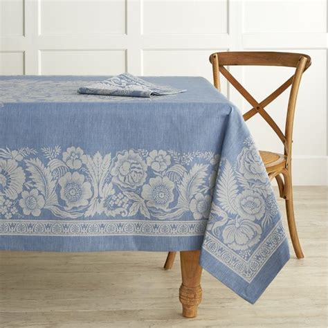 Jacquard Tischdecke by Vintage Floral Jacquard Tablecloth Williams Sonoma