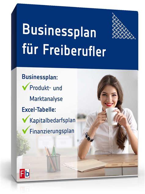 businessplan freiberufler muster aus profihand zum