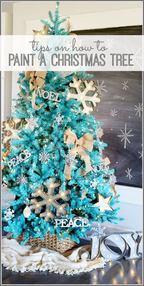 how to paint a christmas tree sugar bee crafts