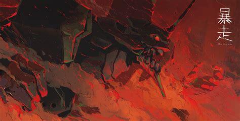 Neon Genesis Evangelion, Mech, EVA Unit 01 Wallpapers HD