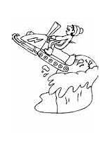 Coloring Pages Winter Sports Ski Doo Skidoo Ws2 Ws Skiing Sheets Advertisement Dari Disimpan sketch template