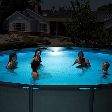 intex led pool wall light walmart