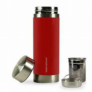 Mug Avec Infuseur : mug infuseur isotherme 350ml libertea rouge ~ Teatrodelosmanantiales.com Idées de Décoration