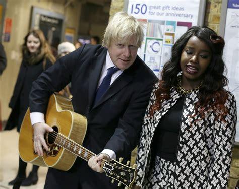 Boris Johnson Busking With Misha B At Launch Of Gig 2019