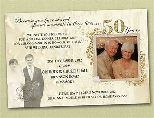 Anniversary invitations ideas 25th anniversary for 50th wedding anniversary invitation