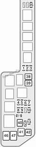 Fuse Box Diagram Toyota Sienna  Xl10  1998