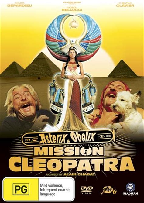 asterix  obelix mission cleopatra foreign films dvd
